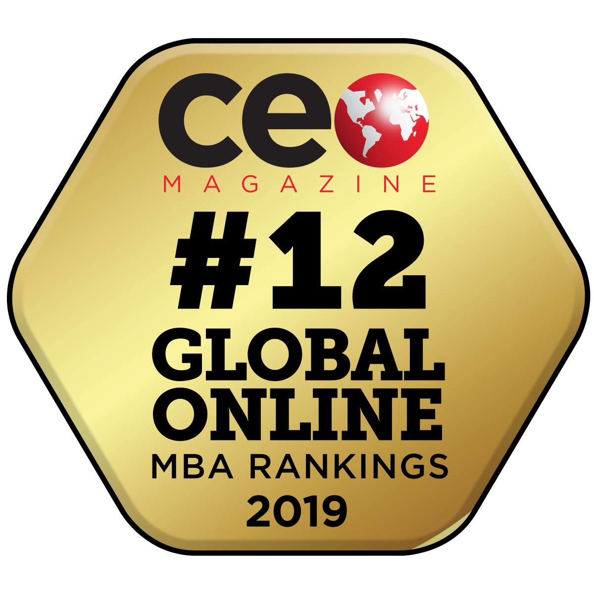 CEO Magazine global ranking logo