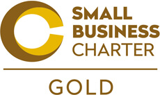 Small Business Charter Gold Award logo